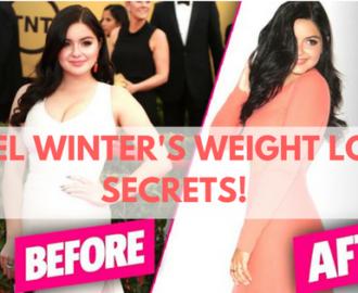 ariel winter's weight loss