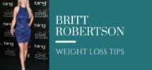 britt robertson weight loss