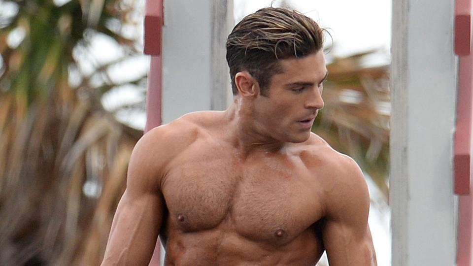 Zac Efron's Muscle Transformation Supplements Available