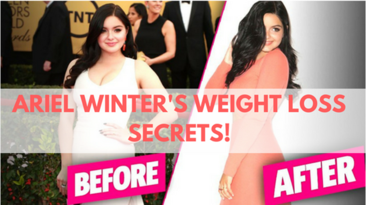 ariel winter's weight loss