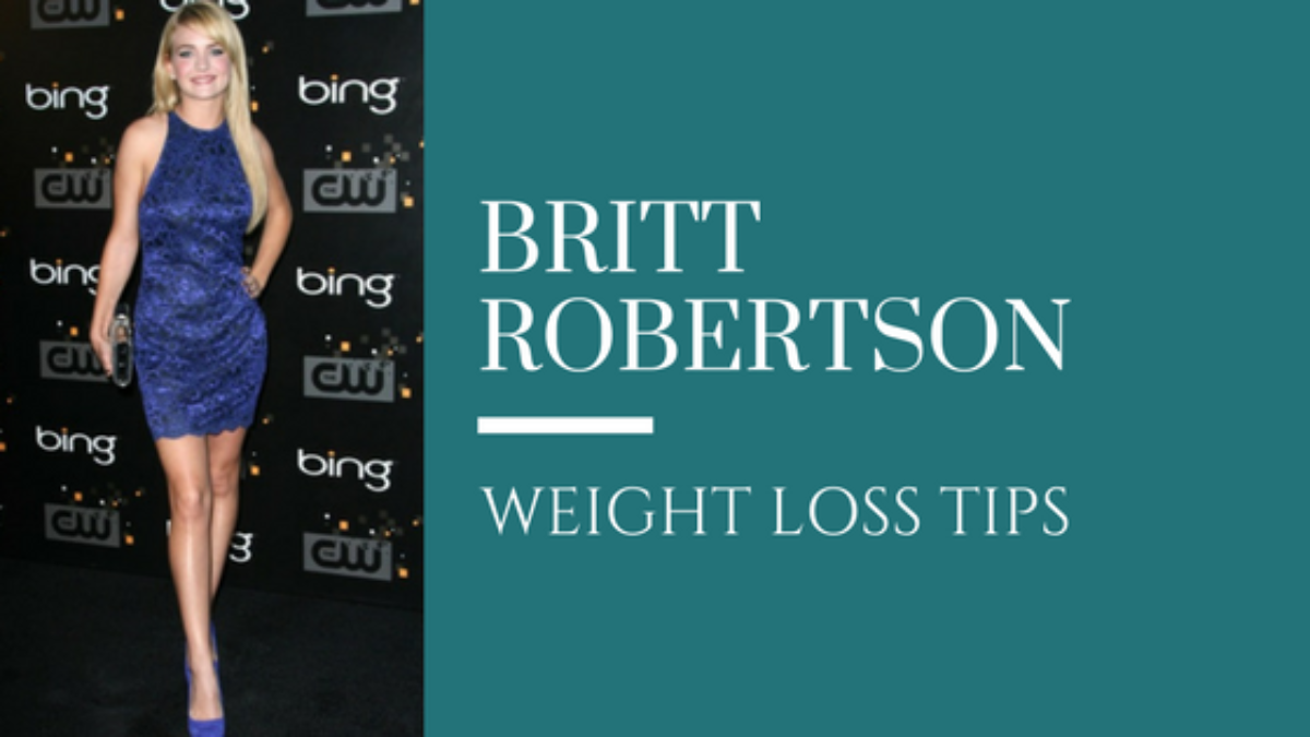 britt robertson weight loss